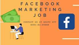 FACEBOOK MARKETING JOBS AVAILABLE IF ANYONE IS INTERESTED