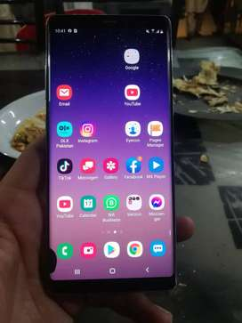 Samsung note 8 pta approve 6gb 64 gb exchange with laptop pc