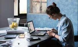 A Girl Receptionist+Telly