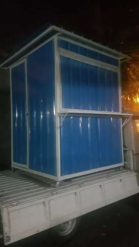 Booth container dan food truck