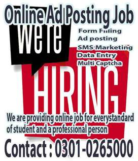 We are exploit person who want online typing job from home