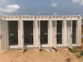 prefabricated home made containers and steel structure roofs in murree