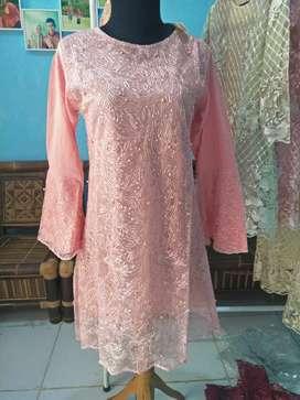 Tunik Kebaya tile mutiara harga 100ribuan