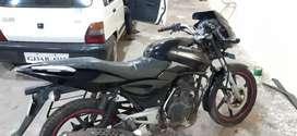 Pulsar black color tip top condition pepar badha camplit che