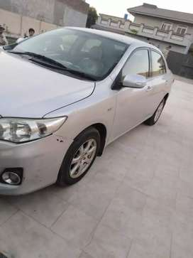 Toyota Corolla available with driver @ 2500 per day