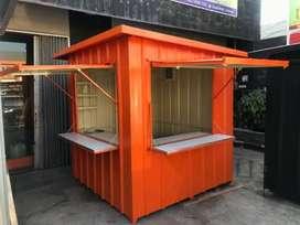 cicilan booth container cocok untuk semua usaha,cuma DP aja