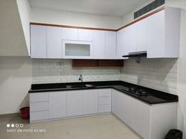 Kitchen set, kamar set, lemari pakaian minimalis HPL..
