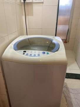 Samsung fully functional top loading washing machine