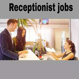 Front office executive cum receptionist