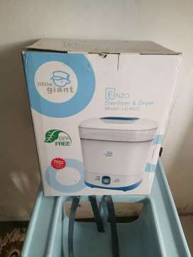 Sterilizer driyer enzo little giant  untuk alat2 baby bayi