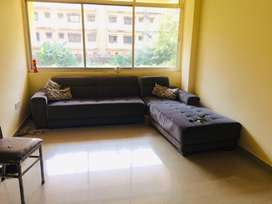 Available 3bhk semifurnished flat for rent in betim reis margos.