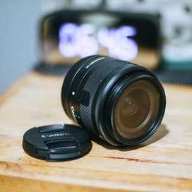 Lensa Canon EF-M 15-45mm f.3,5-6,3 STM Mirrorless