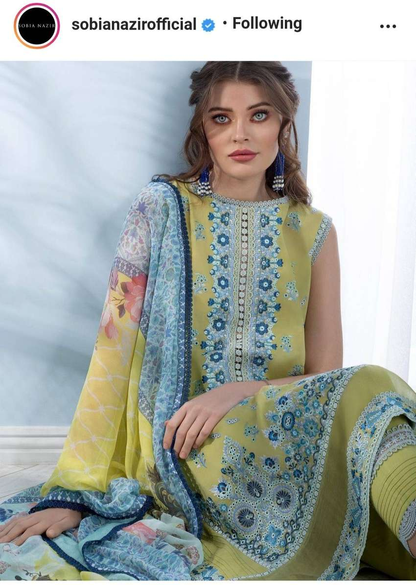 Sobia nazir lawn collection