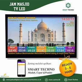 Jual Jam Masjid TV Led 32 Inch Di Gedong Tengen Yogyakarta