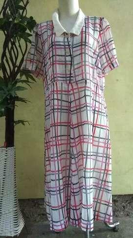 Dress kotak PL import