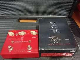 VOX Satchurator Joe Satriani Distortion Pedal bekas