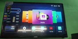 43 inch smart UHD Samsung or Sony panel inside with 2year warranty cod