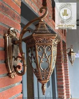 Lampu hias dinding klasik minimalis eropa dekorasi hias lampu pilar