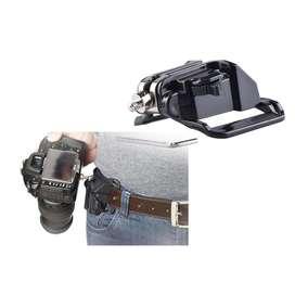LYNCA Bracket Pinggang Gantungan DSLR Camera Belt Button Quick