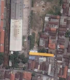 Tanah di Kedurus didekat Gunungsari Wiyung Mastrip Surabaya buat kost