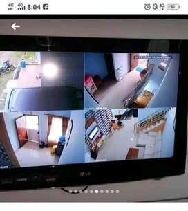 Jual kamera Cctv paket Hillok 2 MP area Sukabumi kab
