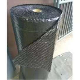 Bubble Wrap Roll 125 Cm x 50 Meter Hitam Tebal - Berat 3.1 Kg