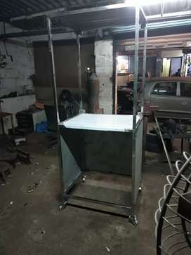 Shawarma stand , grill machine , bakery show case anything I will make