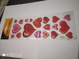 Glittering Puffy Stickers