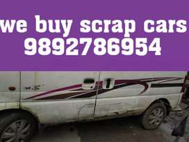 Non used scrap cars junk cars buyer
