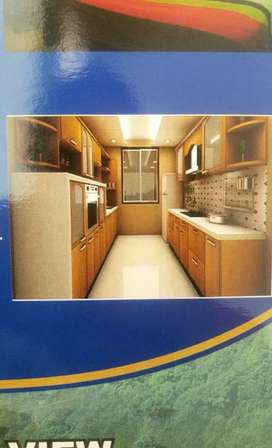 2bhk ready spacious flat, rera approved and oc approved