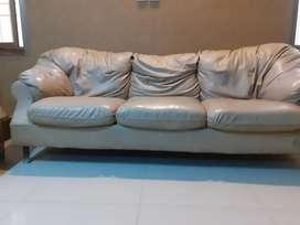 5 seater sofa set in rexine
