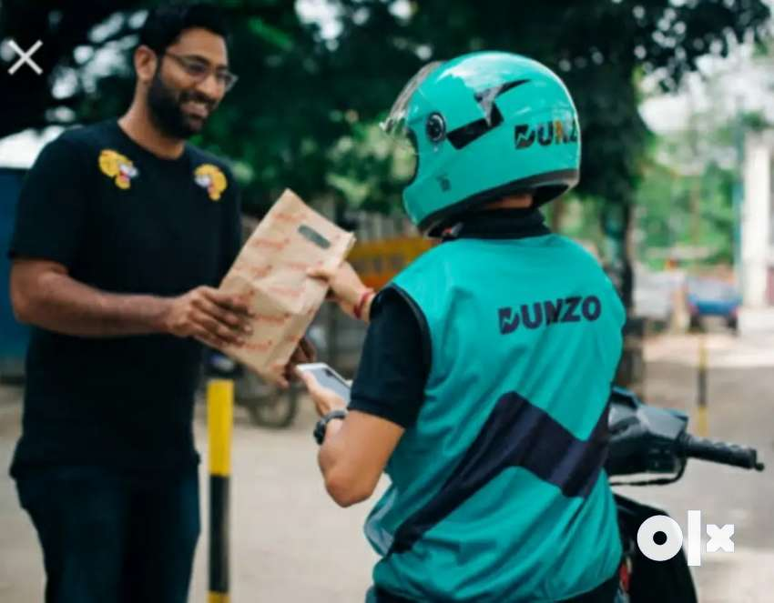Dunzo Delivery job available (Free joining)