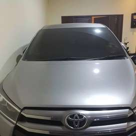 Toyota Kijang Innova Reborn V Lux 2017 a/t Bensin, Silver, Istimewa