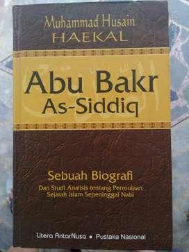 Abu Bakar As-siddiq (Muhammad Husain Haekal, Litera AntarNusa)