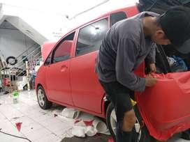 Cutting STicker WRapping fullbody Rapih Mangele STiker Mobil Bandung