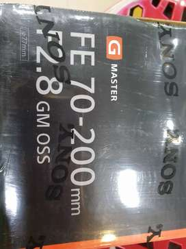 Sony Lens 70-200mm F2.8 GM On Cash and Easy Instalments.
