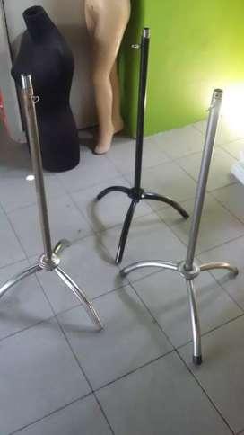 Penyangga kaki 3 khusus manekin