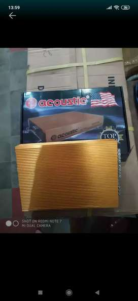 Power acoustic 4 canel (Megah top )