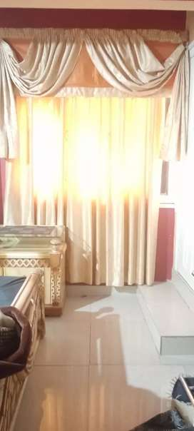 Door Curtain RS 5000/-  and Window curtain  RS 15000/-