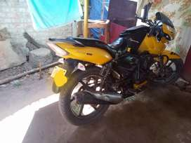 Tvs rtr front tyre back tyre, good condition