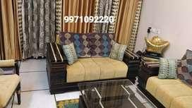 Beautiful Teak wood premium quality sofa set