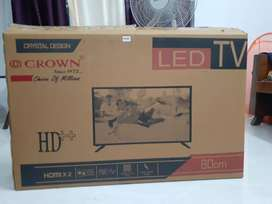 32 inch new LED TV- CROWN.