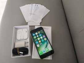 iPhone 6 128GB Space Gray 4G LTE Lengkap Ex inter Mulus iCloud Aman