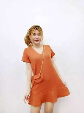Dress rajut cantik