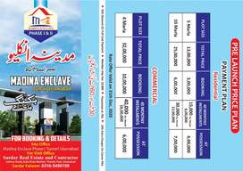 Madina enclave phase 1&2 booking