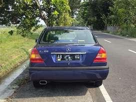 Mercedes Benz W202 C200 M/T 1995 tinggal pake
