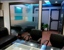 Fully furnished office for rent at Newtown opp.coal bhawan near dlf 1