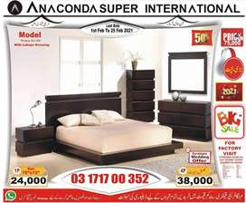 Set Single bed |  Wood Furniture | Double bed Wood Bed Factory.