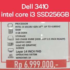 Dell 3410 intel core i3 ssd 256gb