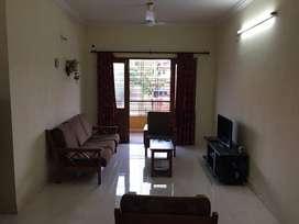 2 BHK Furnished flat in Dona Paula